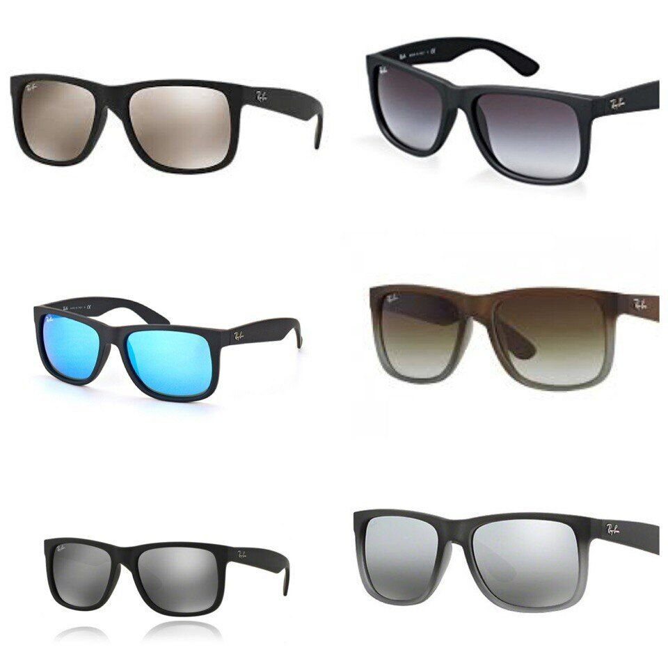 02dc39f0393 Details about New Ray-Ban RB4165 55mm Justin Wayfarer Sunglasses-Choose  Color