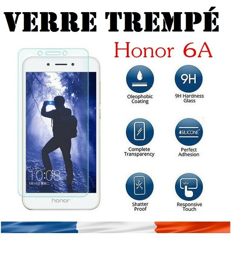 vitre protection verre tremp film protecteur cran pour huawei honor 6a ebay. Black Bedroom Furniture Sets. Home Design Ideas