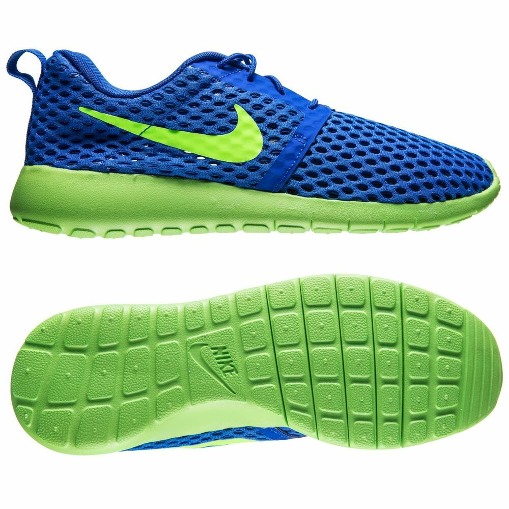 0ab4b5d2d3ed Details about NIKE ROSHE ONE FLIGHT WEIGHT JUNIOR BOYS GIRLS WOMENS  TRAINERS UK SIZE 5 BLUE
