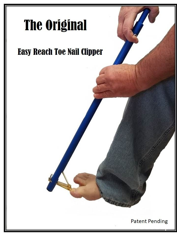 new nail Clippers, long handled toenail clipper, extended reach ...