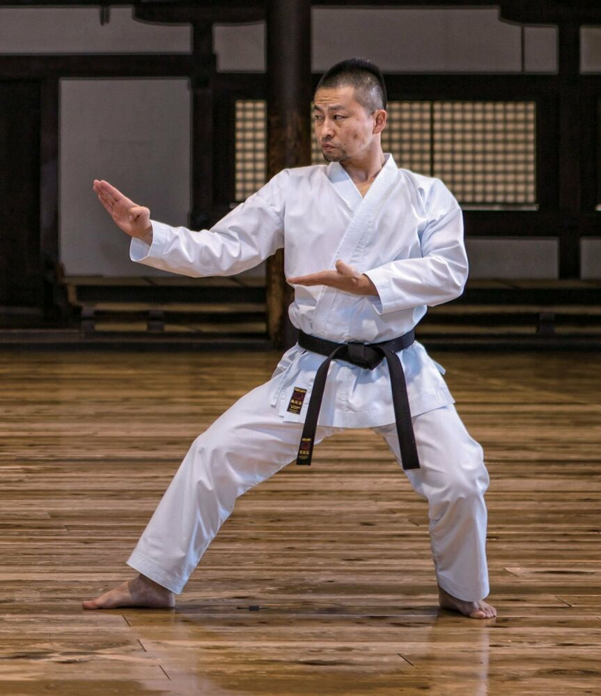 Tokaido Shikon Japanese Uniform Middle-weight Kata Karate