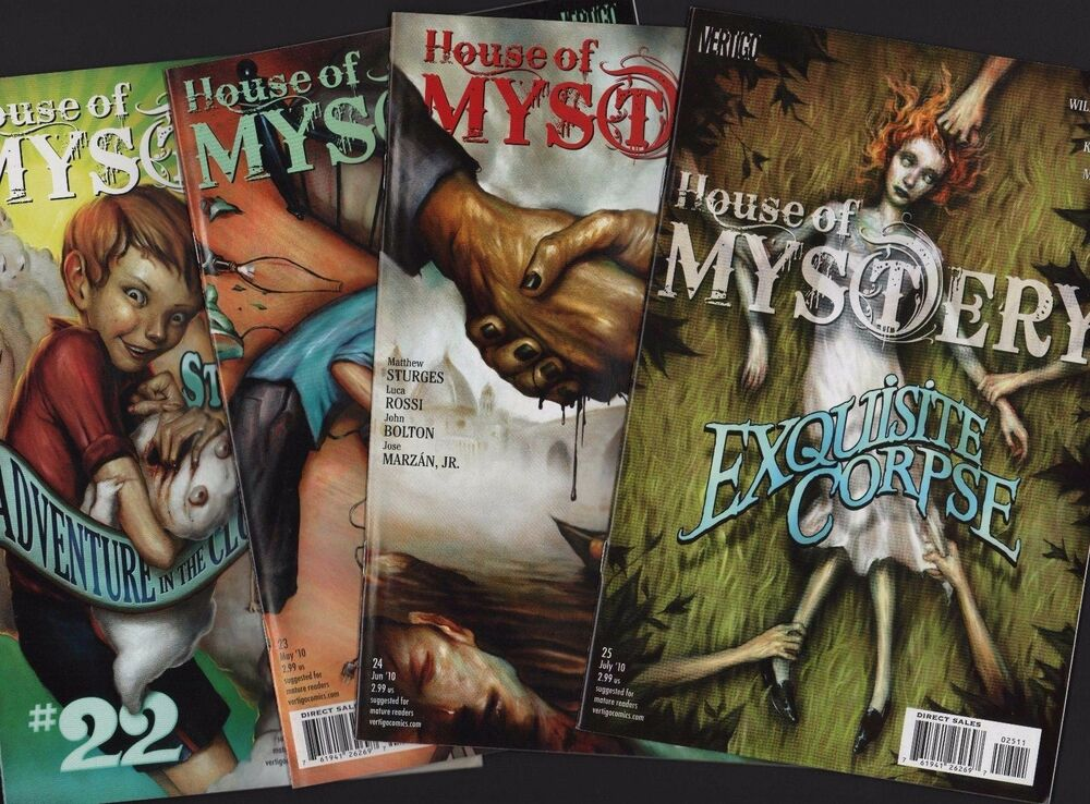 d6b79e77d53b HOUSE OF MYSTERY BUNDLE  22  23  24  25 VERTIGO B8.74