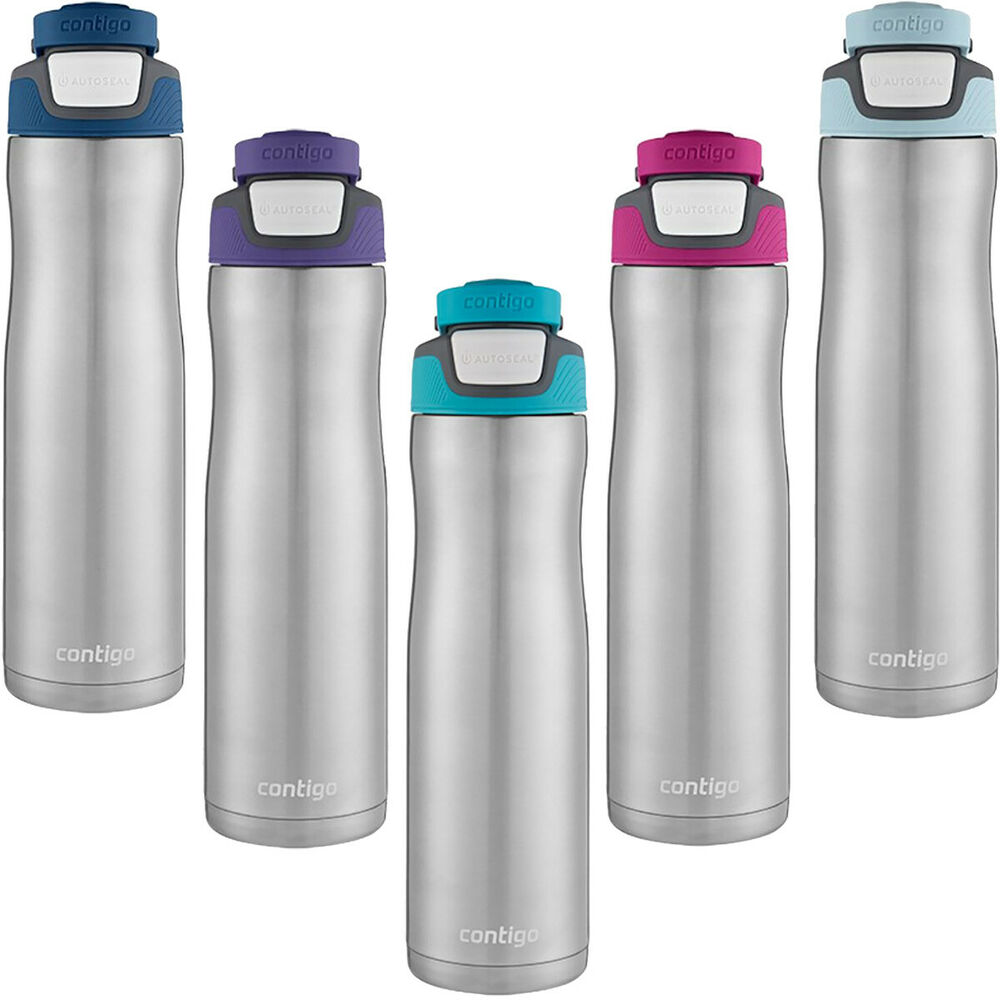 Contigo 24 Oz Chill Autoseal Stainless Steel Water Bottle