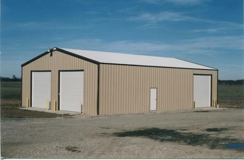 Steel building 24x24x16 simpson steel building kit steel for Single garages for sale