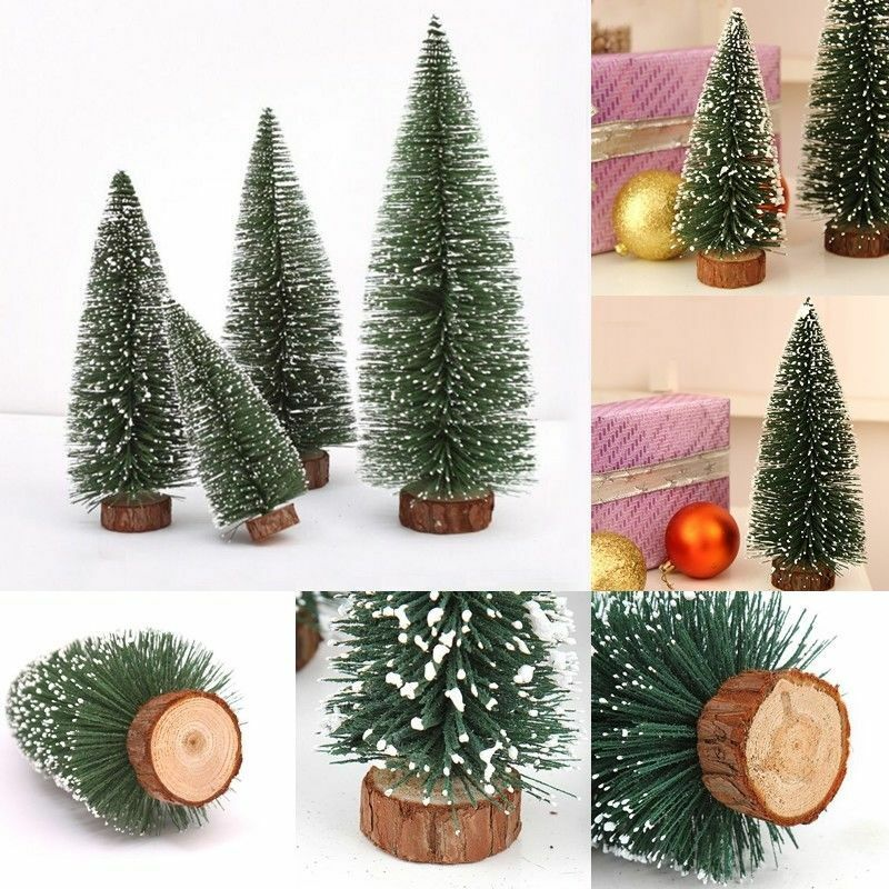 k nstlich mini weihnachtsbaum tannenbaum christbaum b ume ornament geschenk xmas ebay. Black Bedroom Furniture Sets. Home Design Ideas