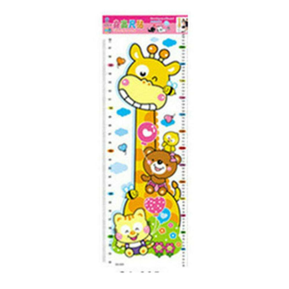 Children kids cartoon animal growth height chart wall sticker baby children kids cartoon animal growth height chart wall sticker baby room decor 91962938951 ebay nvjuhfo Image collections