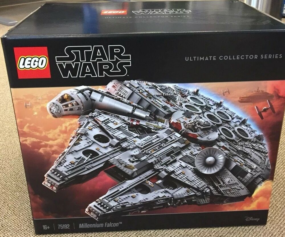 lego star wars millennium falcon 75192 ultimate collectors. Black Bedroom Furniture Sets. Home Design Ideas