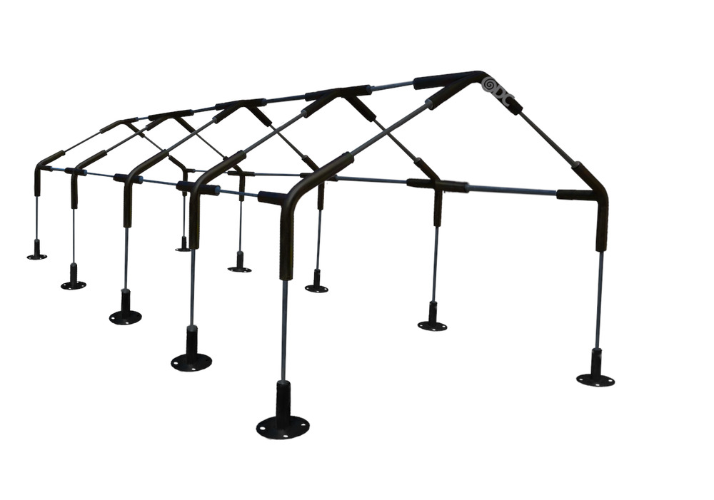 10 Leg Carport Canopy Tent 1 3 8 Steel Fittings 3way 4way