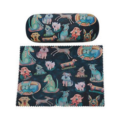 Dog glasses case & matching cleaning Cloth - Allen Designs