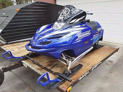 2001 YAMAHA SRX 700 TRIPLE / COMES WITH TRAILER / NO RESERVE AUCTION!