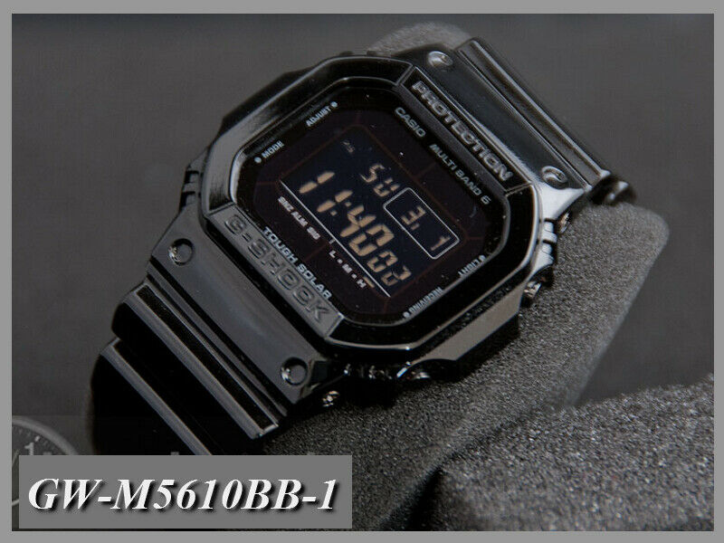 0174a709ee3f Casio - G-Shock - Tough Solar and Multi-band 6 Atomic Timekeeping - Black -  79767050108