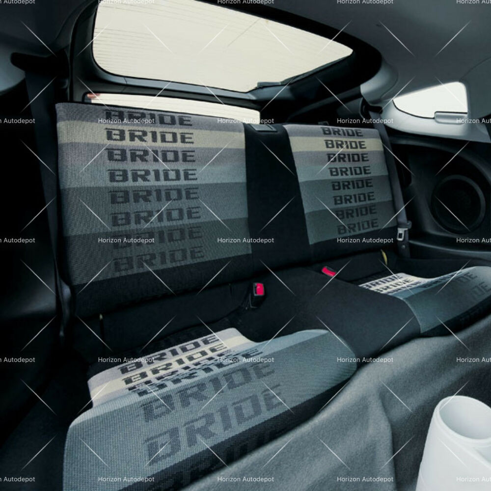 Jdm Gradation Bride Fabric Seat Cloth Racing Seats Cover