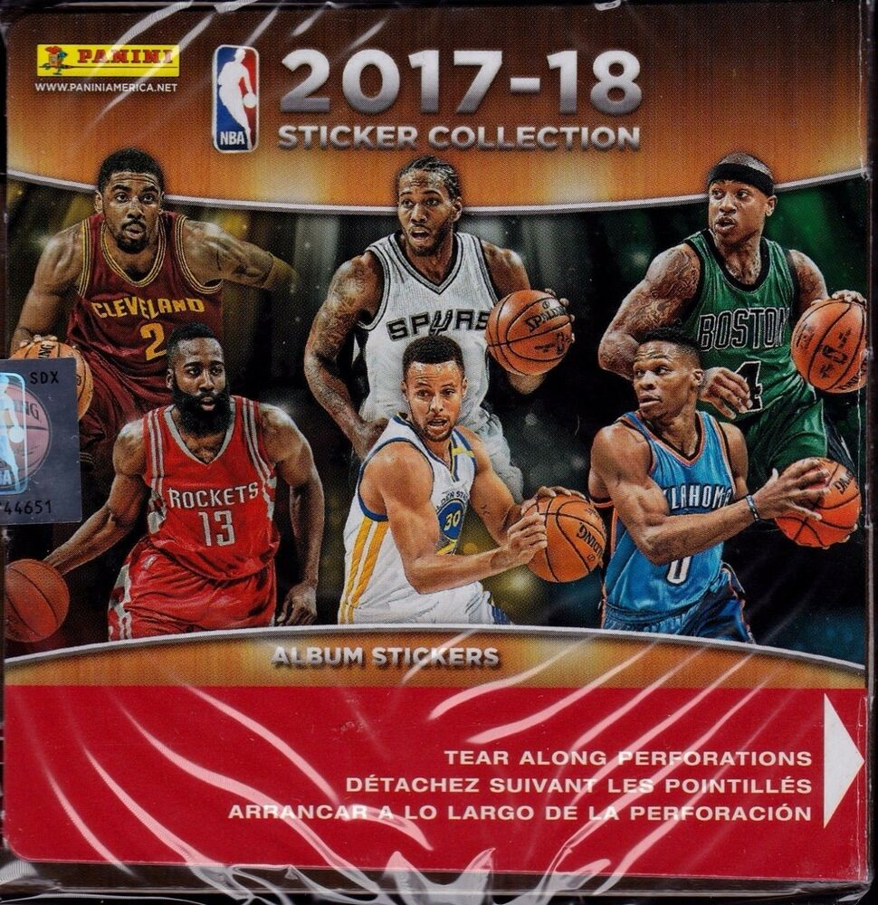 New Cover S Alert The 2017 18 Nba Rookies: 2017 2018 Panini NBA Basketball Sticker Collection