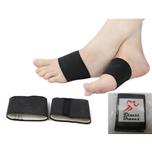 2 PAIRS - Plantar Fasciitis Copper Arch Compression Sleeves, Foot Pain Relief