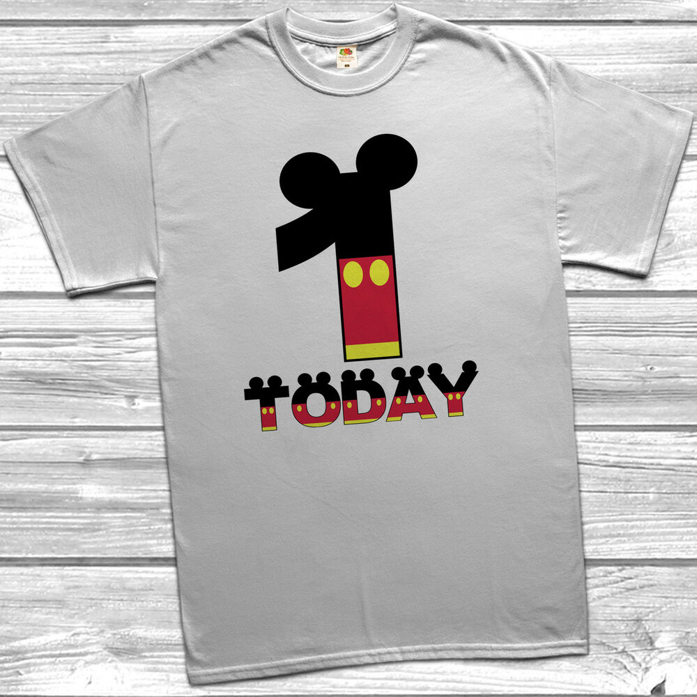 Mickey Mouse 1st Birthday Shirts Alzheimers Network Of Oregon