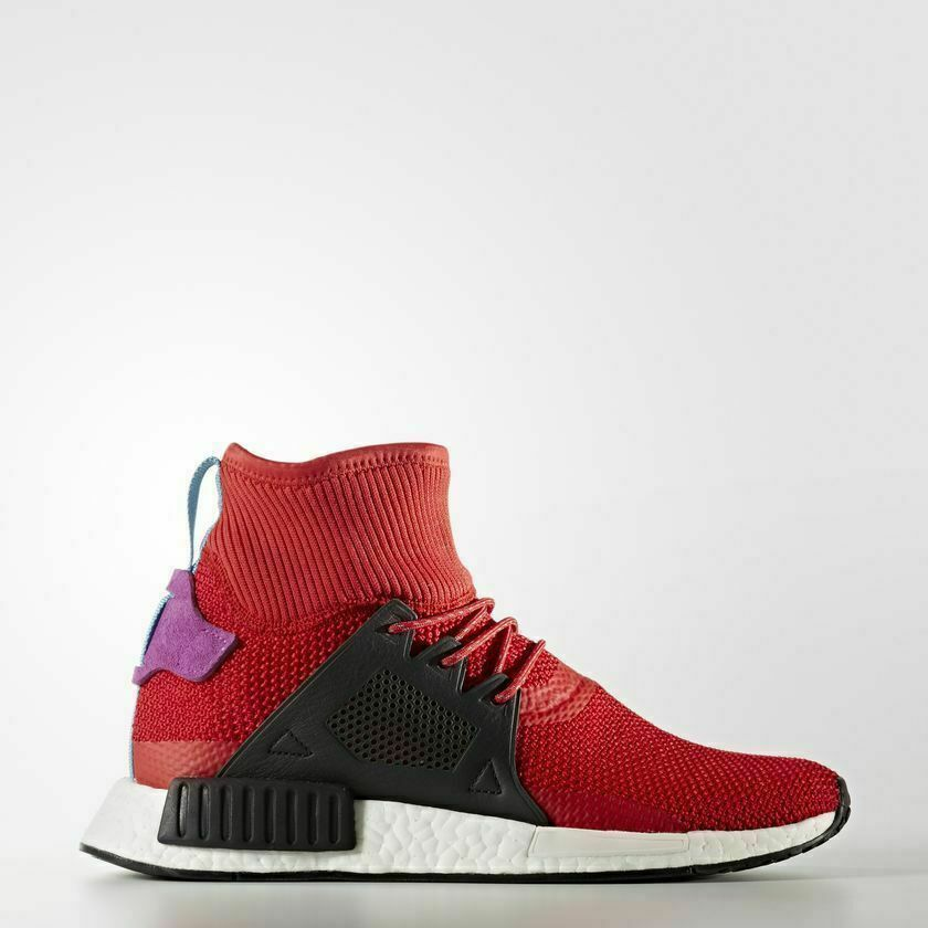 732e1dc3aef36 Details about Adidas Originals Nmd XR1 Winter Scarlet Red Black Boost  Limited Men New BZ0632