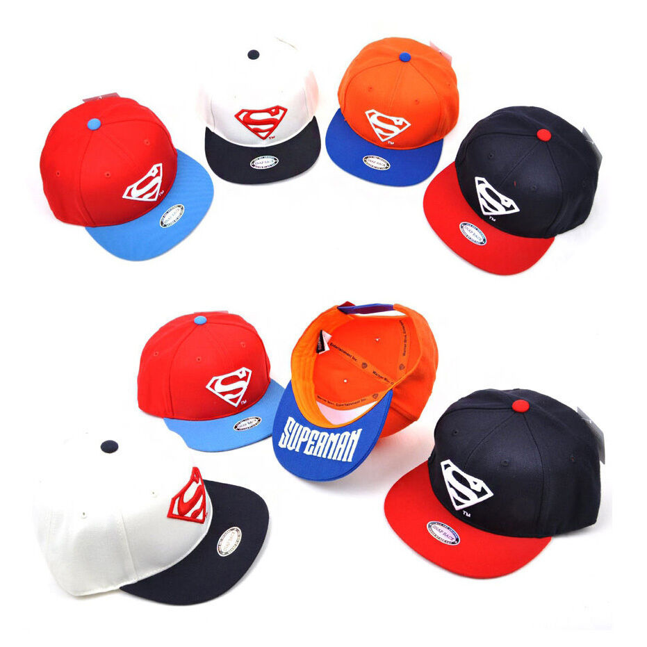 ca5b9d16545 Details about Children Kids Boys Baby Girls WB DC Comics Superman Baseball  Cap Snapback Hats