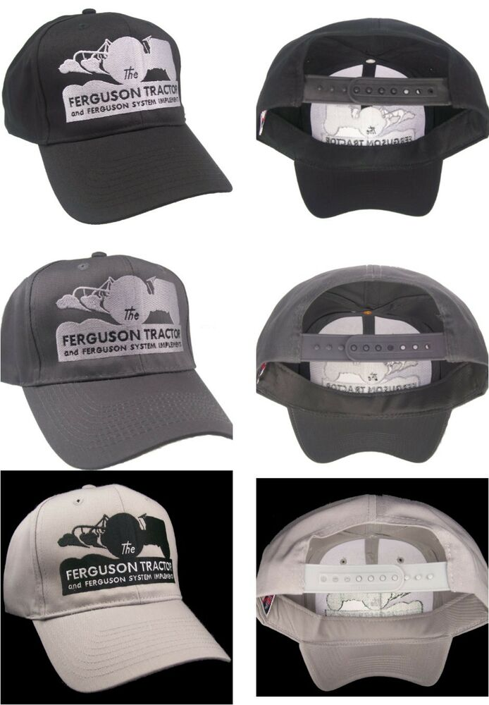 83613fa00a3 Details about Ferguson Tractor Fergie Farm Implement Embroidered Cap Hat   40-7900 CHOOSE COLOR