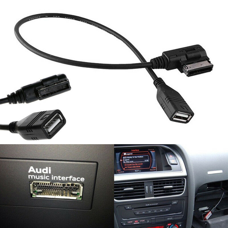 usb music interface ami mmi aux mdi mp3 cable adapter ap for vw audi a3 a4 a5 a6 ebay. Black Bedroom Furniture Sets. Home Design Ideas