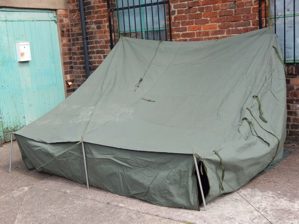 Ex Military CVRT AFV Command Tent in Storage Bag [GP5] & Military Tent | eBay