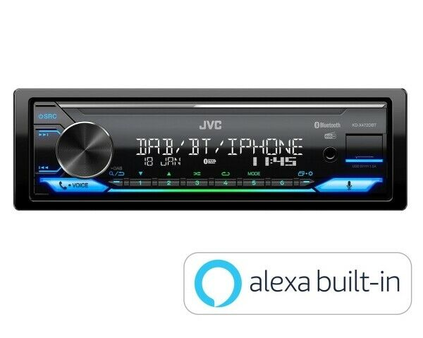 jvc kd x451dbt dab car radio stereo mp3 usb aux in player. Black Bedroom Furniture Sets. Home Design Ideas