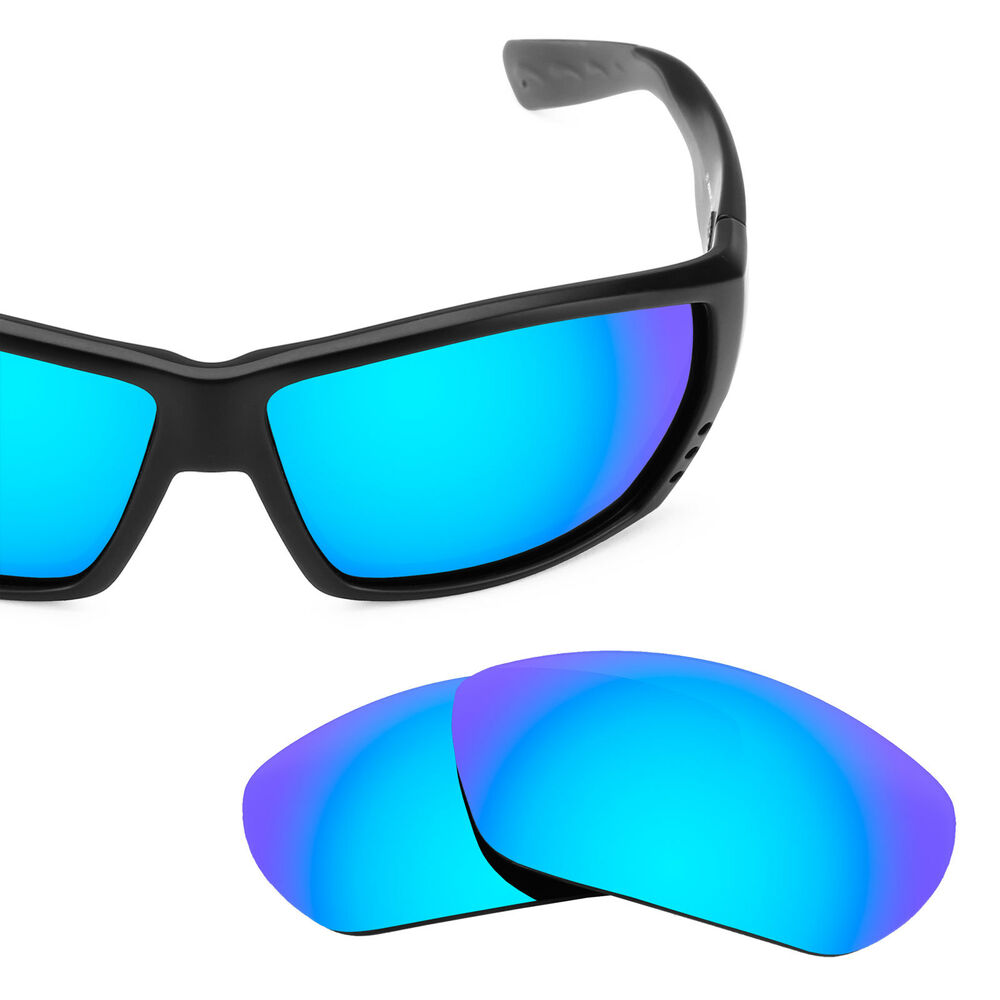 46977dabed Details about Revant Polarized Ice Blue Replacement Lenses for Costa Tuna  Alley