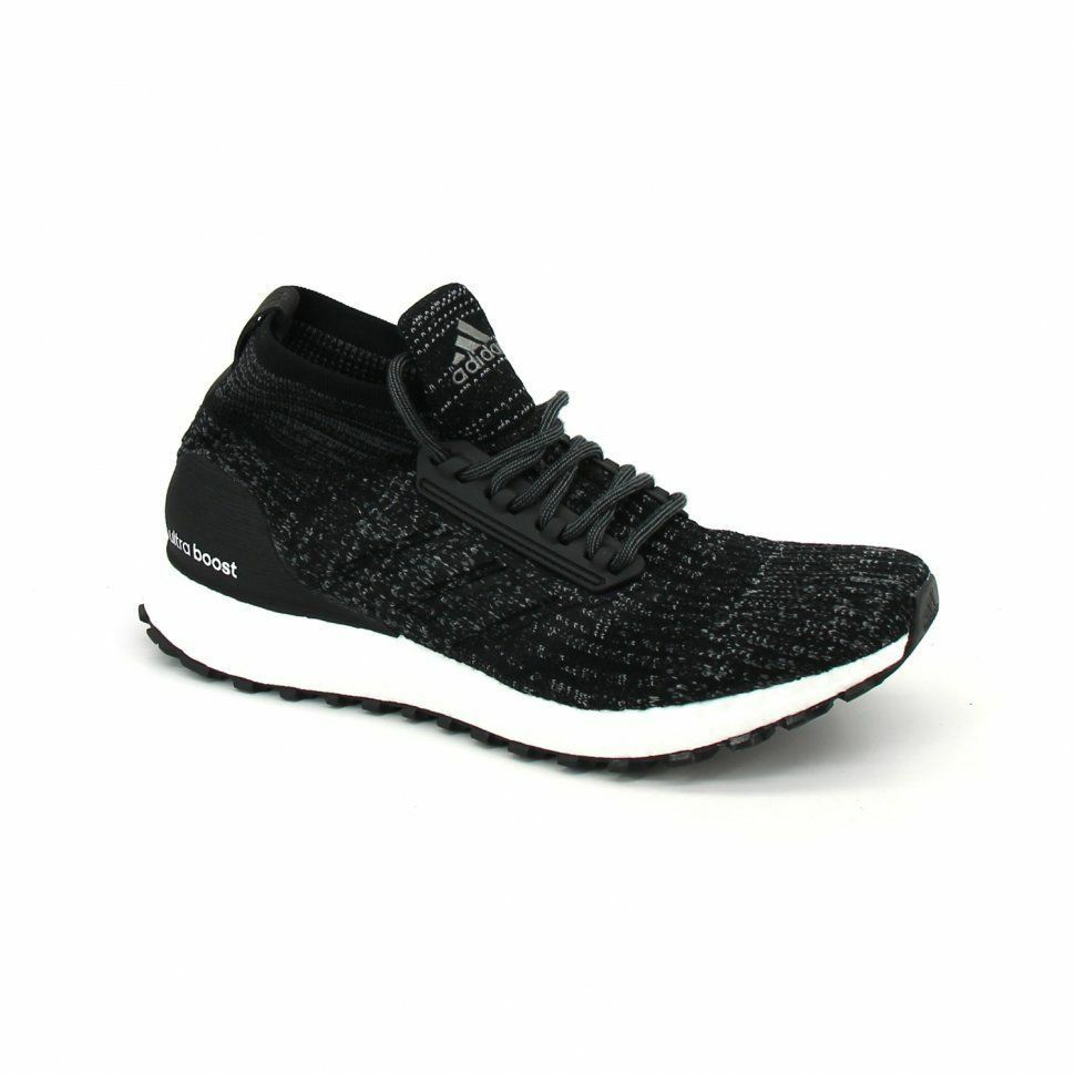 37dac189ee5b Details about New Men s ADIDAS ULTRA BOOST ATR MID - S82036 Black White  Ultraboost Sneakers