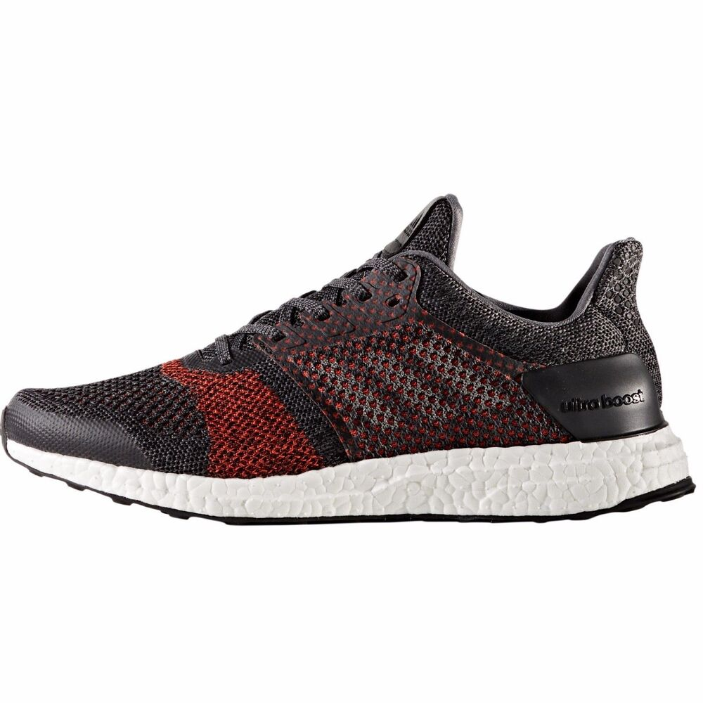 0ee062901 Details about NEW Adidas Ultra Boost ST Running Shoes Black Red S80616