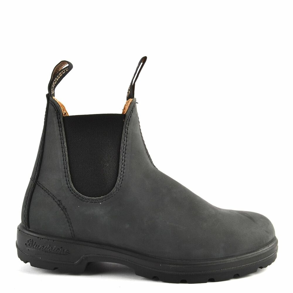 New Blundstone Style 587 Rustic Black Leather Boots For