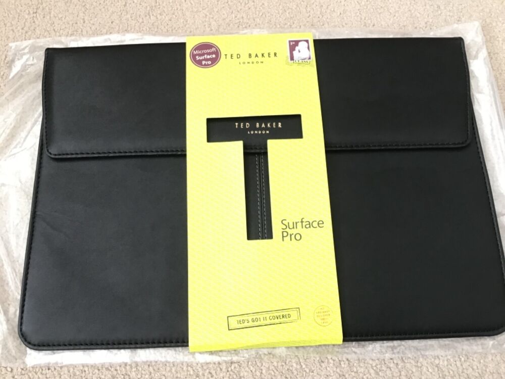 be8bd95b92eaa7 MICROSOFT SURFACE PRO 3 TED BAKER LONDON FAUX LEATHER CASE