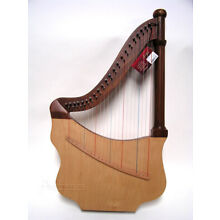 Roosebeck Lute Harp w/ Case & Tuning Tool