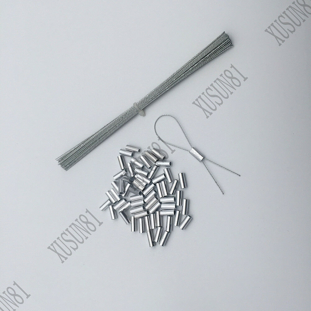 037d8ea20aad Details about 100 AL FERRULES SECURITY LEAD SEALS WIRE TAXI LEAD CRIMP WIRE  SECURITY SEAL