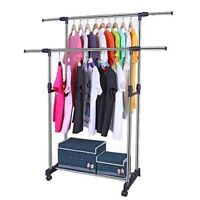 Double Pole Cloth Drying Rack