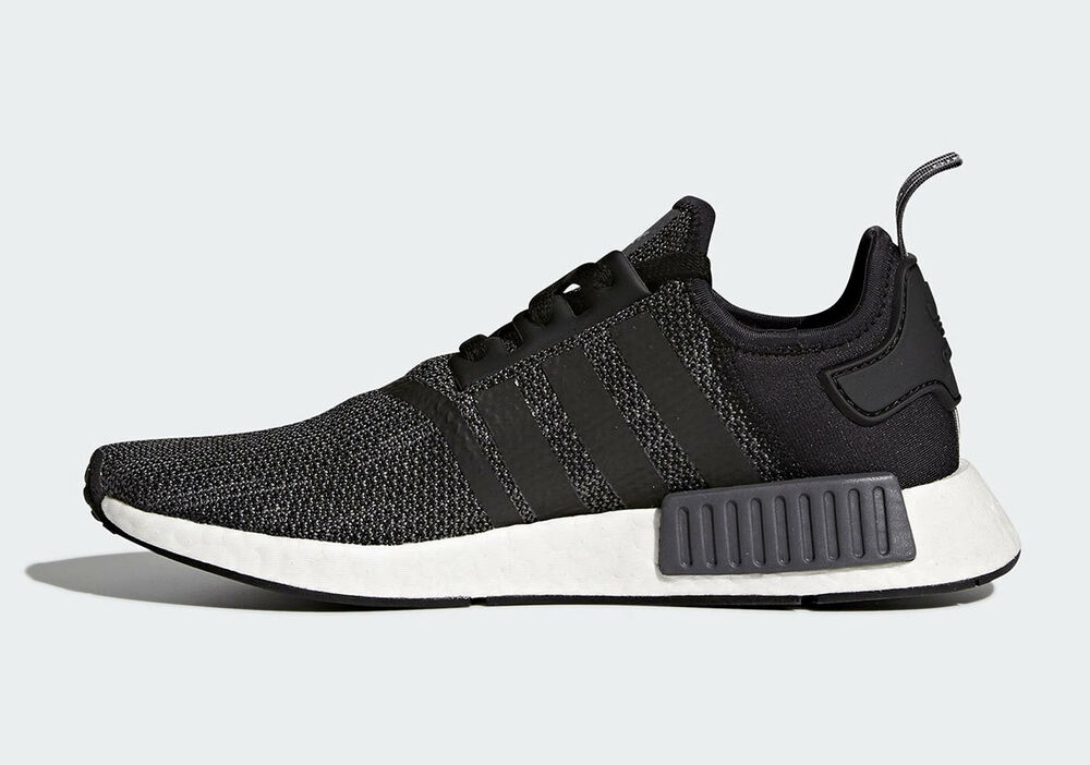 7bd91d034 Adidas NMD R1 Core Black Grey White B79758 Size 8-13 New