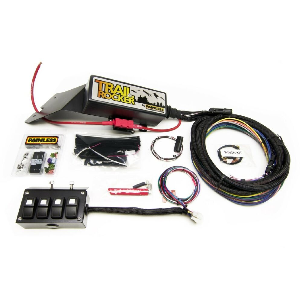 Cool Painless Performance 57021 Trail Rocker Relay Kit W 4 Switch Wiring Digital Resources Aeocykbiperorg