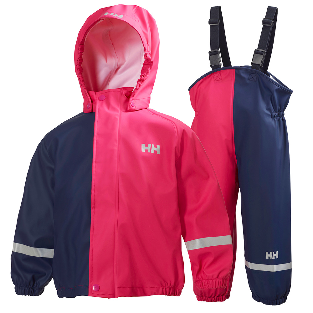 b23a051f6c8 Helly Hansen Girls or Boys K Voss Rainset - Waterproof