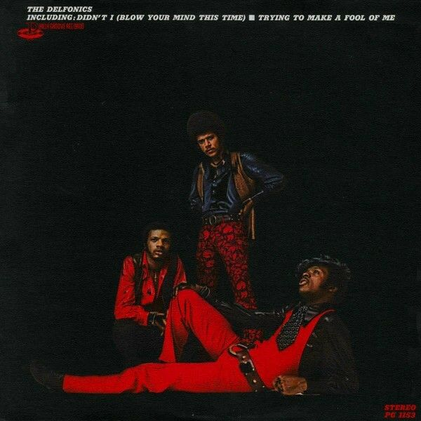 The Delfonics SELF TITLED 3rd Album PHILLY GROOVE RECORDS New Sealed Vinyl LP