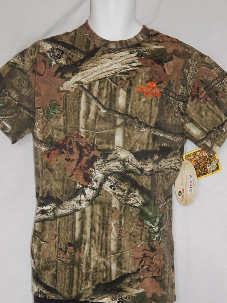 41afd4b5 Details about NEW Mossy Oak Camo Break up Infinity T Shirt Camouflage  Hunting Mens Sizes M-3XL