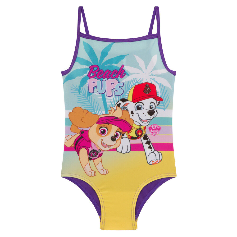 0dfd90d497 Details about PAW Patrol Skye Marshall Official Gift Girls Kids Swim Suit  Costume