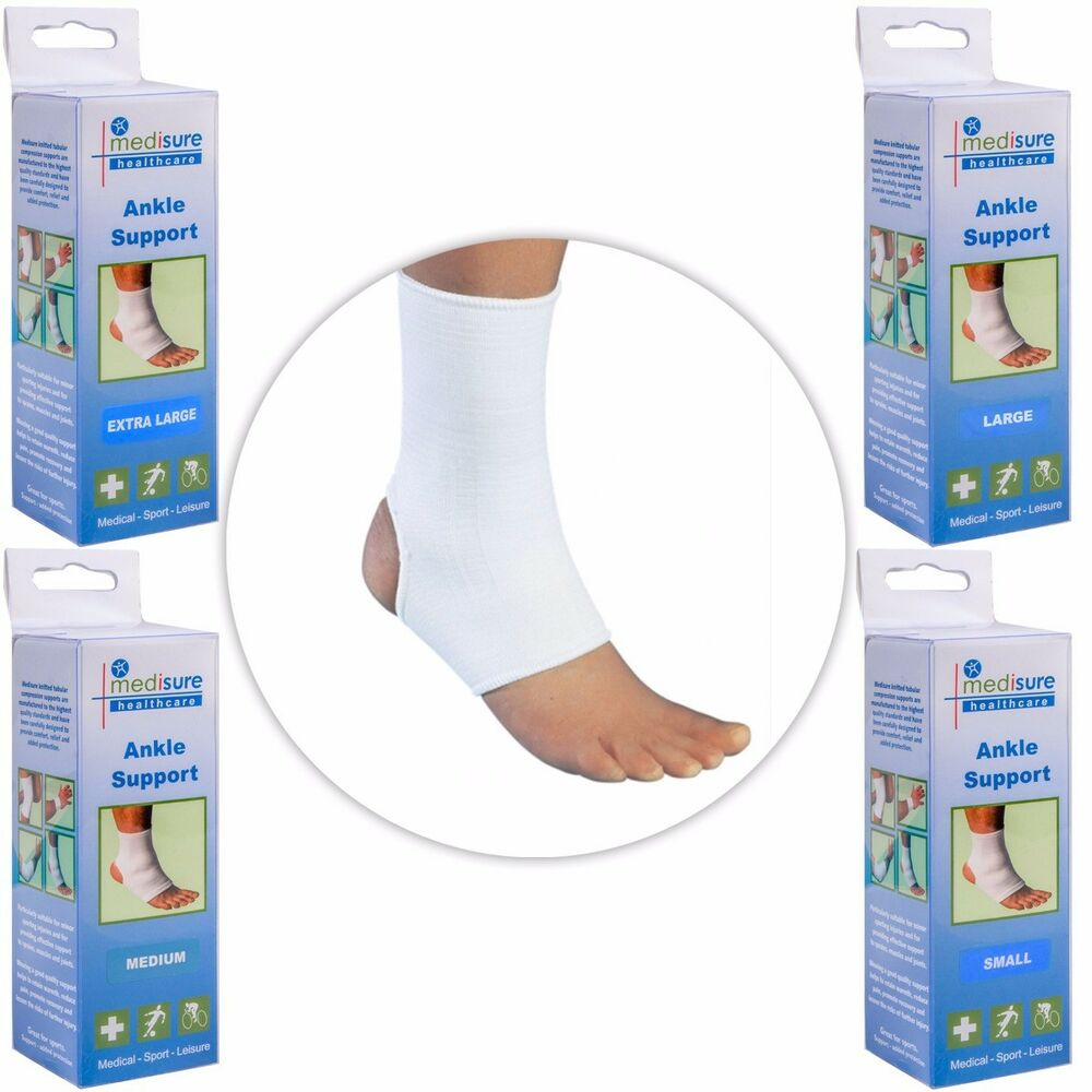 2e3d19409b Details about ANKLE COMPRESSION SOCKS Sports Injury Support Sleeves Joint  Muscle Pain Sprain