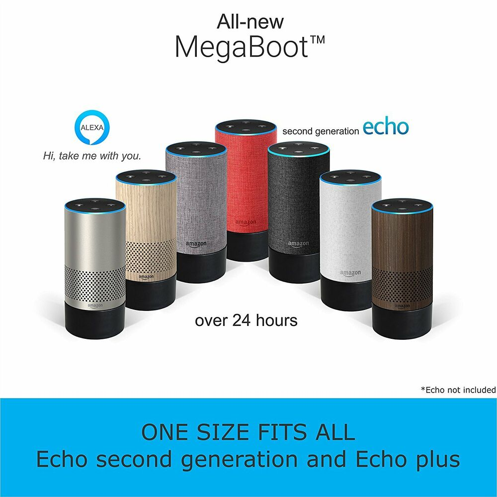battery base for amazon echo 2nd generation and plus. Black Bedroom Furniture Sets. Home Design Ideas