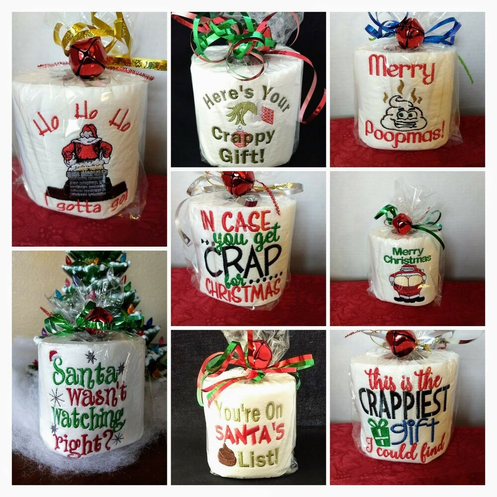 Gag Gifts For Christmas Party: Fun Toilet Paper Gag Gift, Christmas, Birthday, Retirement