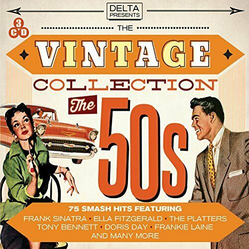 Various Artists - The Vintage Collection - The 50s - Various Artists CD 8WVG The