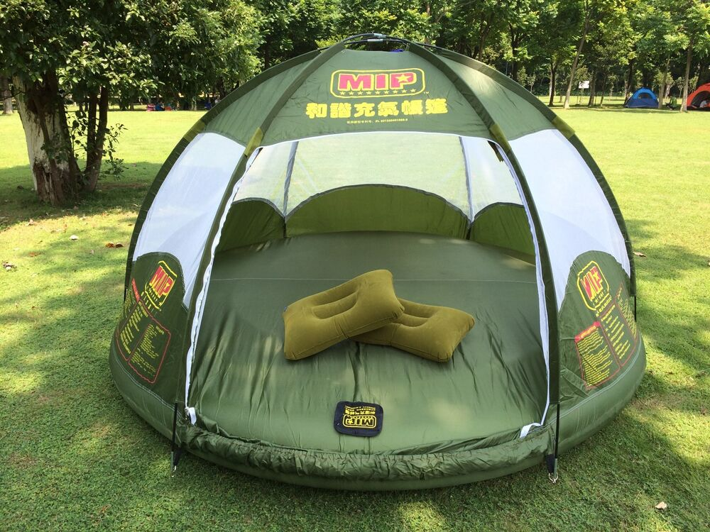 Inflatable Family Tent Large Space With Bladder Water