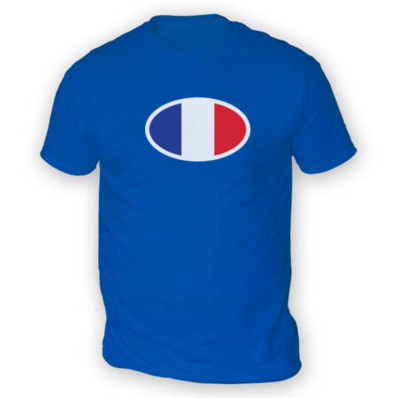 img-French Flag Mens T-Shirt -x13 Colours- Gift Present Football Cup France Rugby