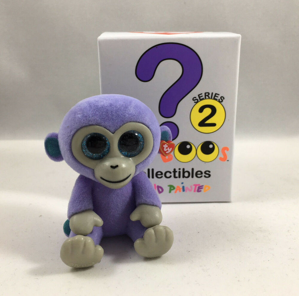09d61881128 TY Beanie Boos Mini Boo SERIES 2 Collectible Figure - BLUEBERRY Monkey (2  inch)
