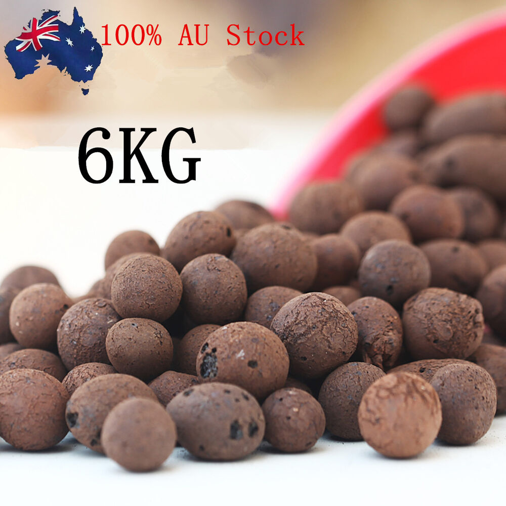 6kg Leca Clay Orchid Hydroponic Grow Media Expanded Clay Balls by Garden Supply