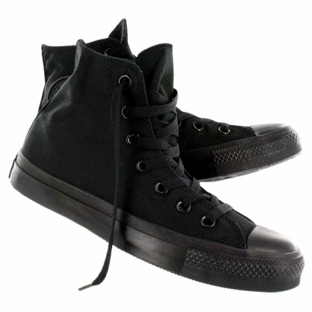 7d943b78929f56 Youth Chuck Taylor Converse All Star Hi-Top (Little Kids) Complete Black F2
