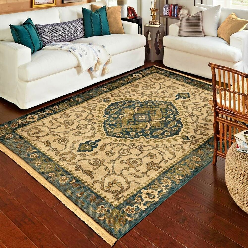 Rugs area rugs carpet 8x10 area rug oriental persian - Living room area rugs ...