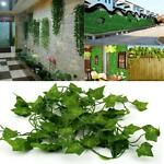 12 Strands Artificial Trailing Ivy Vine Leaf Garland Plants Foliage Flowers